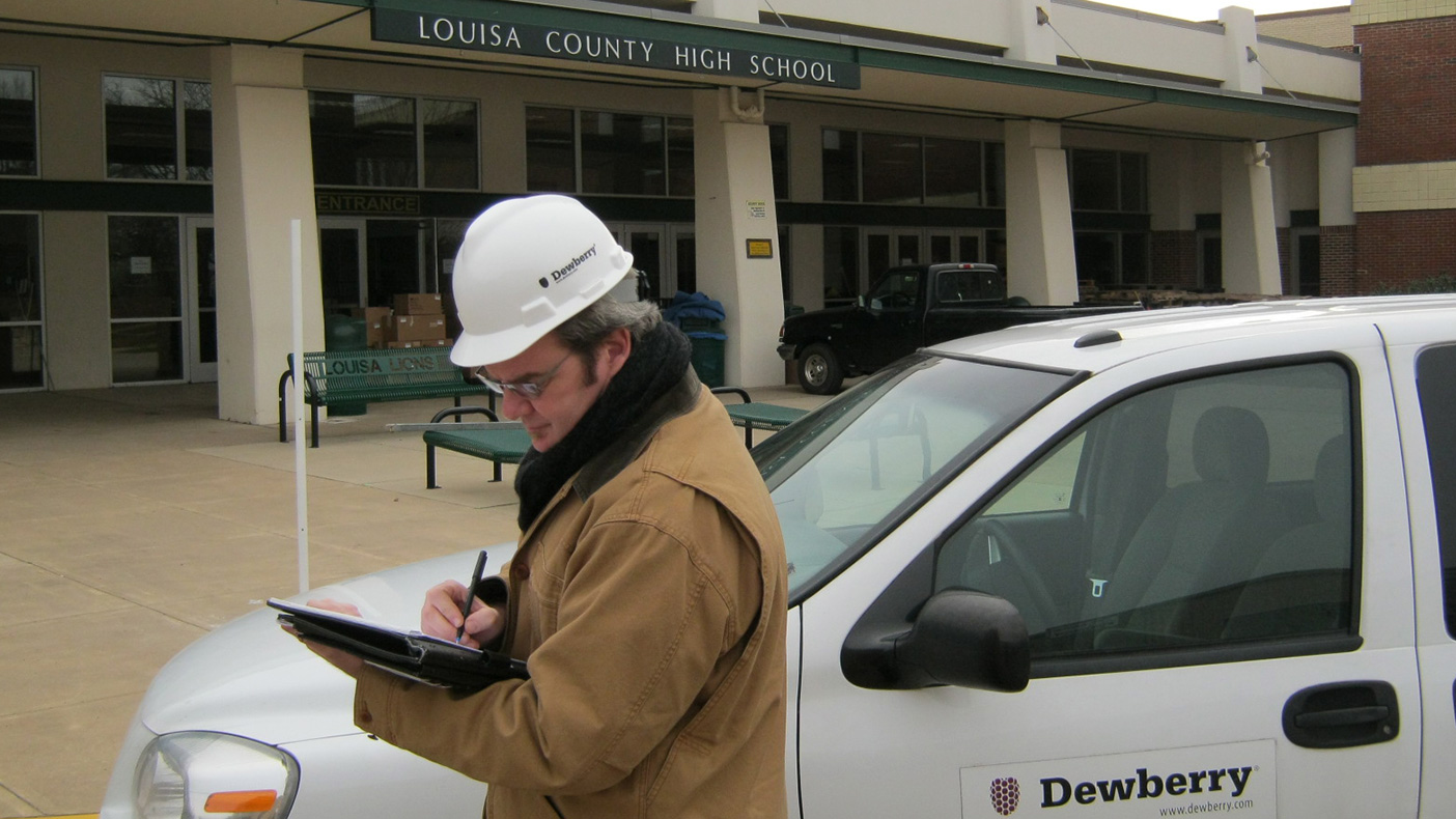 Under an extremely tight deadline, we mobilized a multidiscipline team of engineers and architects to assess damage from a 5.8-magnitude earthquake that hit Louisa County, Virginia.