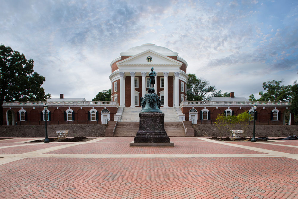 The University of Virginia is now seeing a reduction in power outages by nearly 90 percent. Photo courtesy of Dewberry. Dave Huh, photographer.