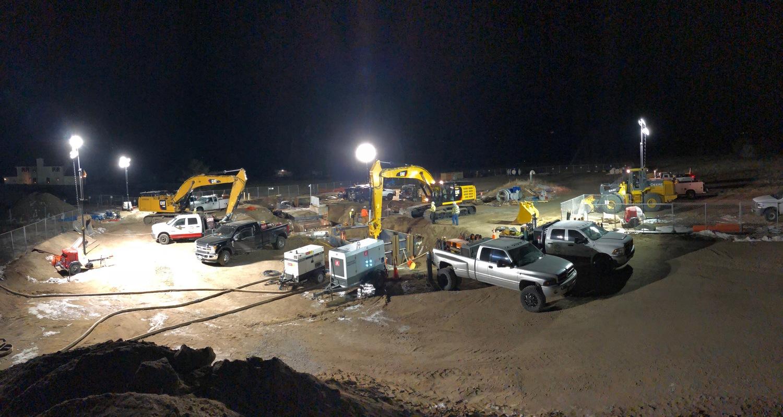 Kettle Creek. Photo courtesy of Garney Construction.