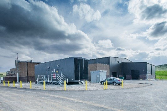 The 10-MGD plant is designed to be expanded incrementally to 20, 30, and 40 MGD.