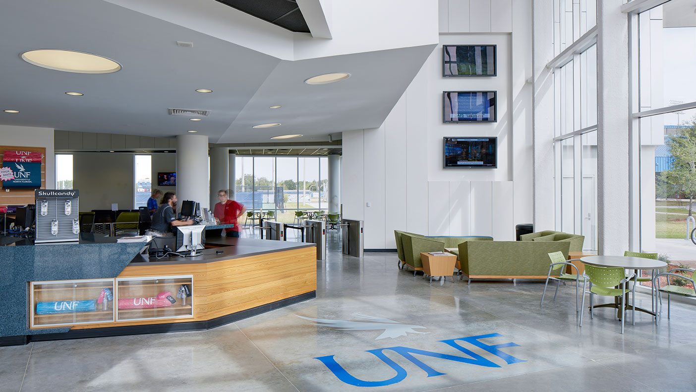 One of the goals of this project was to enhance students' out-of-classroom experience, and monthly use of the facility has nearly tripled since opening.